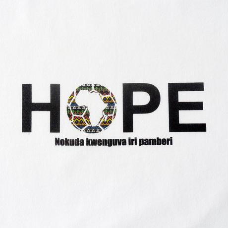 HOPEチャリティウェア(コットンTシャツ/ホワイト)