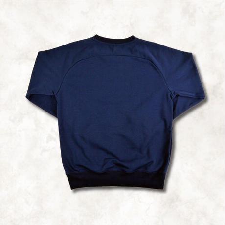 Sweat logo shirt(NAVY)