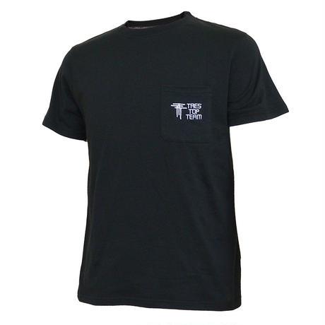 TRES TOP TEAM 2019SS コットンTシャツ(TTT/ブラック)
