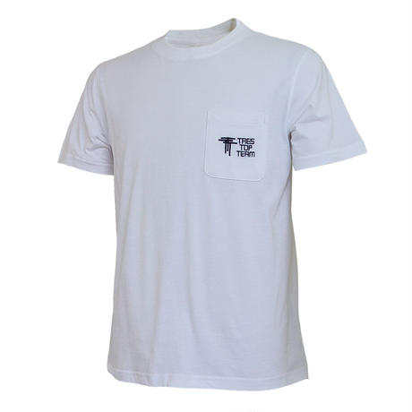 TRES TOP TEAM 2019SS コットンTシャツ(TTT/ホワイト)