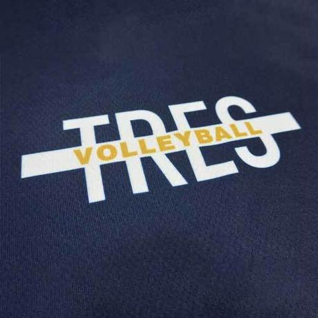 トレスシンプルロゴシャツ(ネイビー)