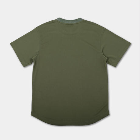 【T-recycle】Small logo T-shirt(カーキ)