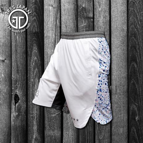 【TMC】WOVEN SHORTS Splash(white-multi)