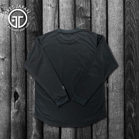 【TMC】 HeiQ Long T-Shirts(Black)
