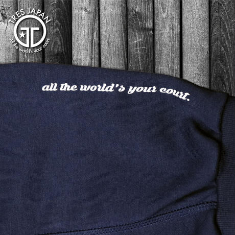 【TMC】ZIPPER SWEAT PANTS(Navy)