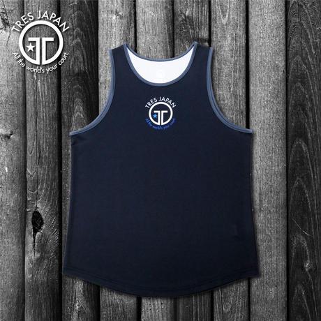 【TMC】HeiQ Logo tanktop(Black/Gray)