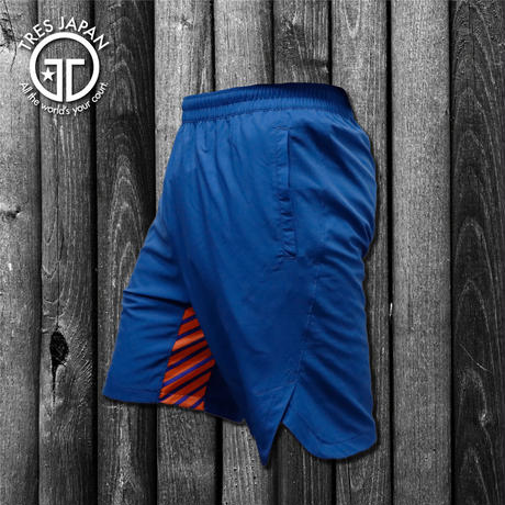 【TMC】WOVEN SHORTS STRIPE(Navy/Orange)