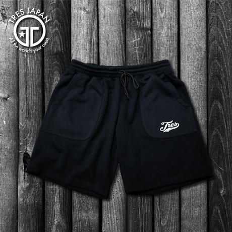 【TMC】SWEAT LOGO SHORTS(Black)