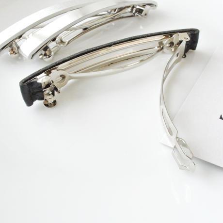 T barrette /  Metal hatome (Patent leather)