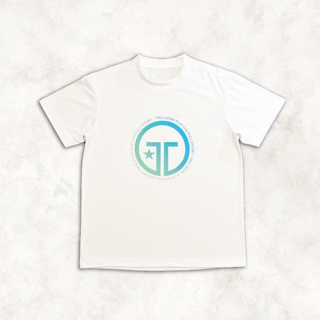 トレスロゴTシャツ(ブルー)