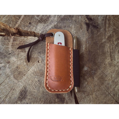 Leather EDC Pocket Sleeve