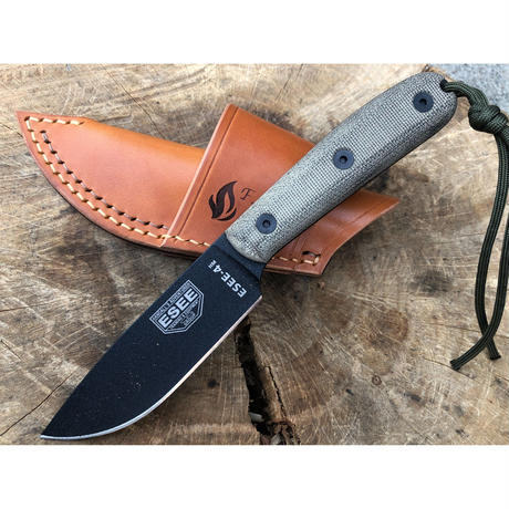 ESEE knives 4HM Horizontal Carry Leather Sheath