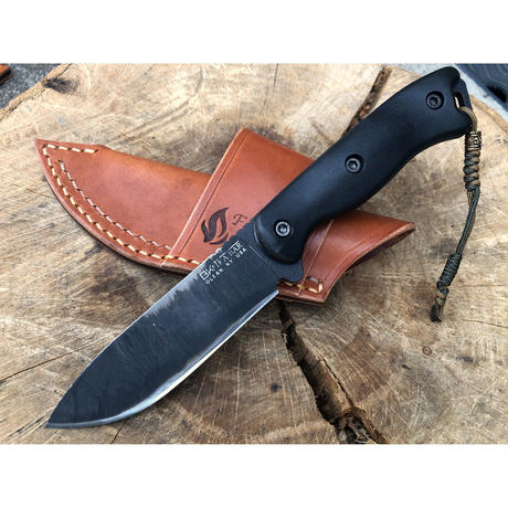 KA-BAR BK16  Horizontal Carry Leather Sheath