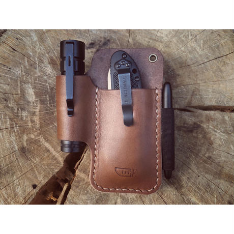 Leather EDC Pocket Organizer L