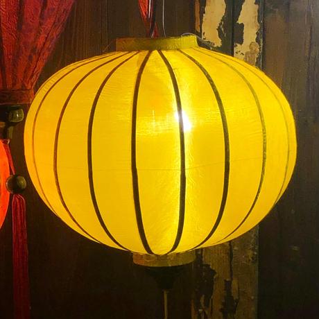 ベトナムランタン 丸形 Lサイズ 黄色