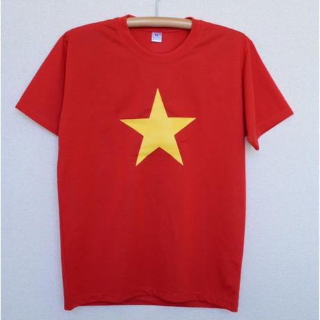 ベトナム国旗Tシャツ