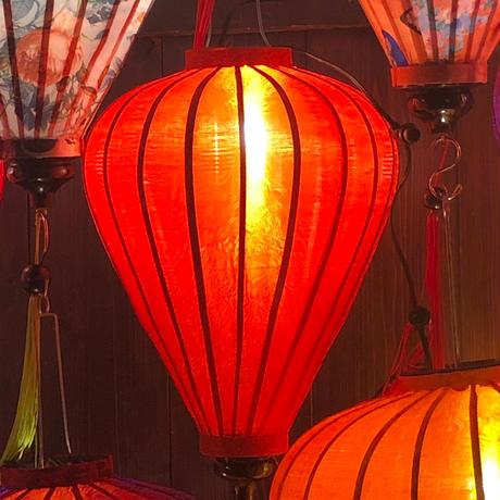 ベトナムランタン ほおずき形 Lサイズ 赤色