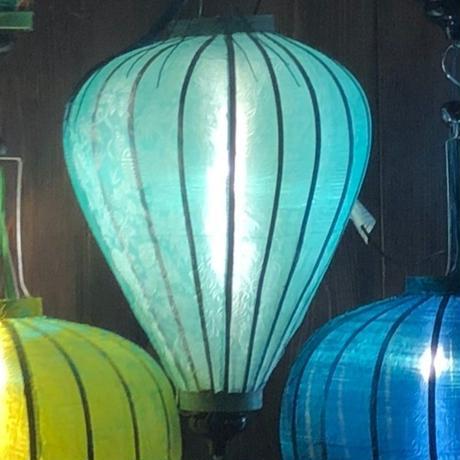 ベトナムランタン ほおずき形 Lサイズ パステルグリーン