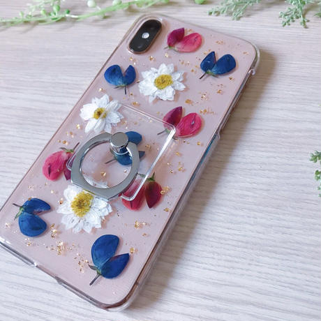 【SC-005】花かんざし スマホケース