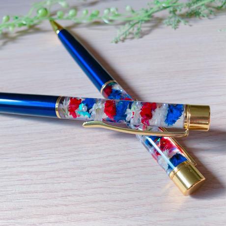 【O-013】フラワー ボールペン(チャームあり)