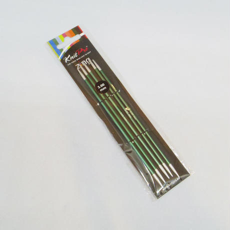 KnitPro編み針 Zing 5本針