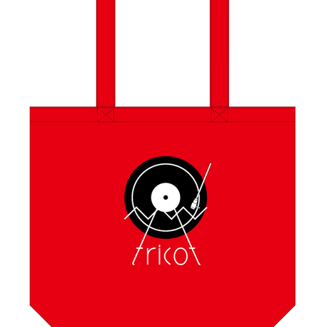 tricot turntable tote bag