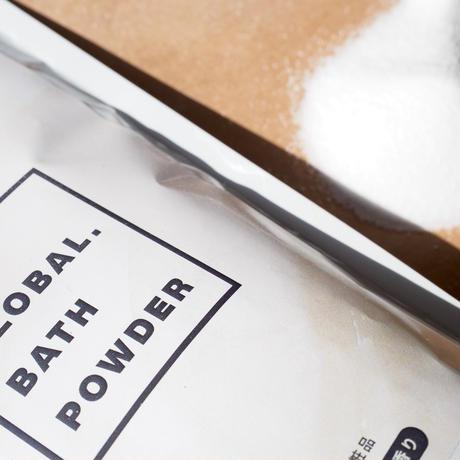 UN. GLOBAL BATH POWDER 【カモミールの香り】250g (計量スプーン付き)
