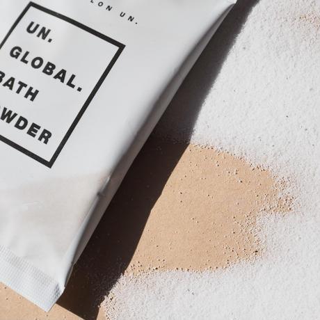 【リッチセット】UN.GLOBAL.GEL  300ml &泡立てネット&UN.GLOBAL.BATH POWDER 25g×2【梱包無料】