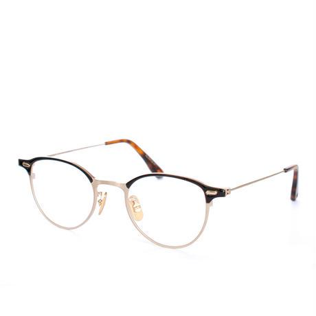 OG×OLIVER GOLDSMITH:オージーバイオリバーゴールドスミス《Re.RIPON 47 Col.052》眼鏡 フレーム