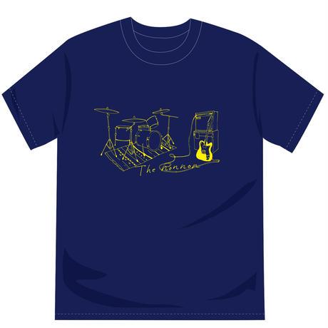 2ピースTシャツ(ナイトブルー)