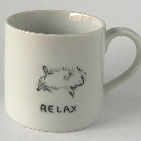 LuckyDogカップ へそ天 チワワ うちの子 コーヒーカップ