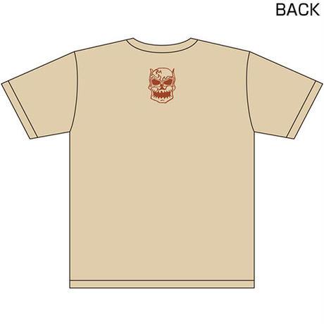 ンドー・カシン Forever IGF Tシャツ Designed by HARIKEN【NATURAL】