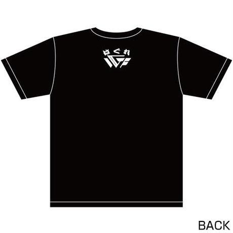 藤田和之 「野獣」リアルビーストTシャツ2020 Designed by HARIKEN【BLACK & WHITE】