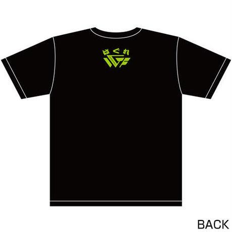 藤田和之 「野獣」リアルビーストTシャツ2020 Designed by HARIKEN【BLACK & GREEN】