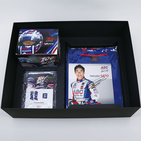 Commemorative set to celebrate Takuma Sato's 100th race in the Indycar Series