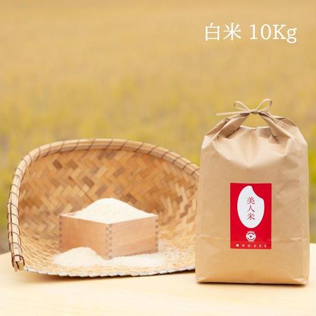 令和2年新米【美人米】白米10kg 千葉県神崎町産