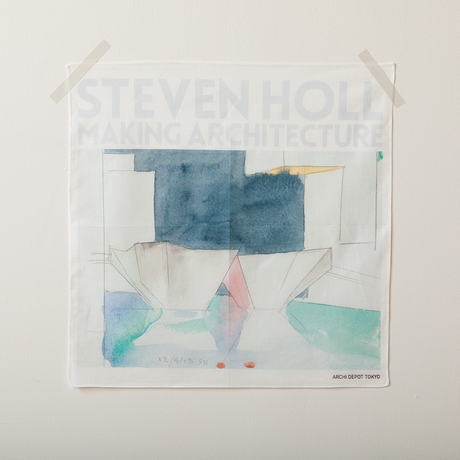 STEVEN HOLL展 ハンカチ(Blue)