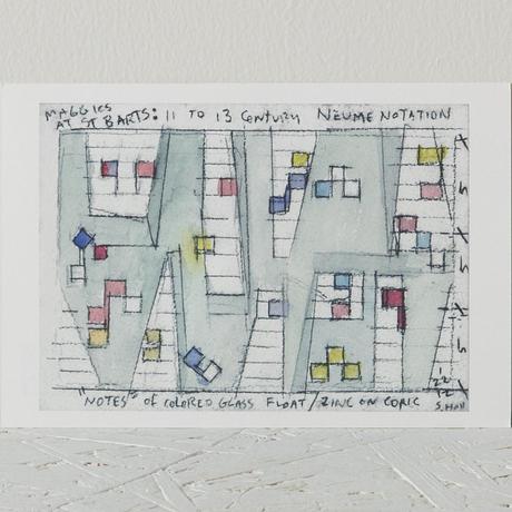 STEVEN HOLL展 ポストカード(Gray)
