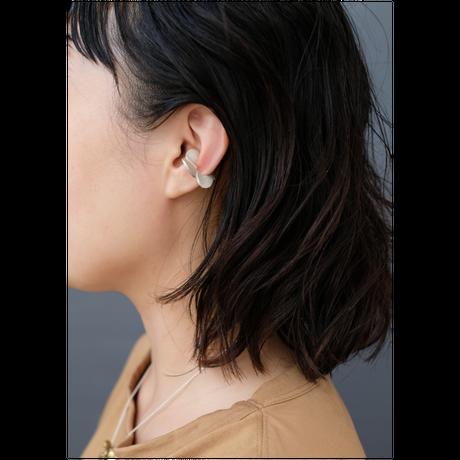 Petal silver earcuff