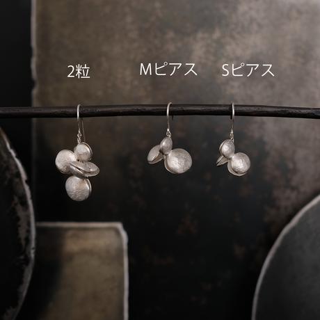 ヤマノイモのタネ M silver pierce (片耳)