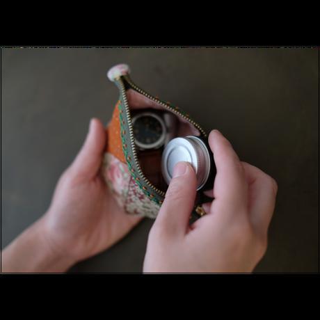 Handmade patchwork pouch