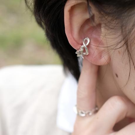 Kazenami Silver Ear cuff (M)