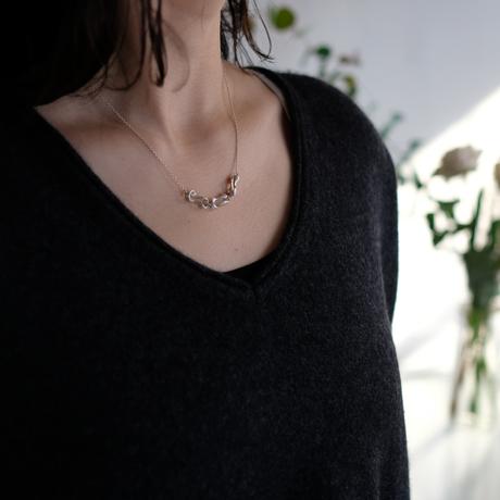 Black moor (S) 3 piece Silver Necklace