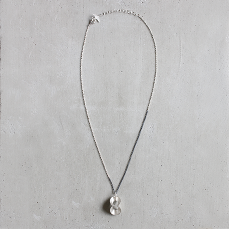 pump (S) silver necklace