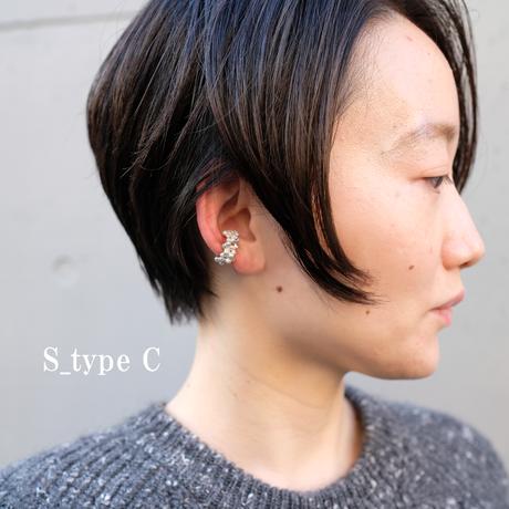 Tama-ajisai    (S)  SIlver Earcuff    Type A〜C