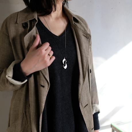 kanban silver necklace