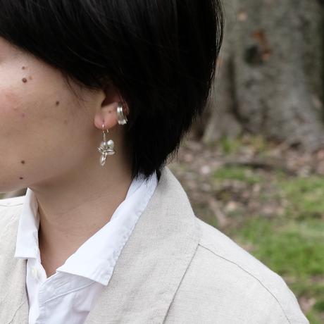 Asatsuki Silver Ear Cuff (M)