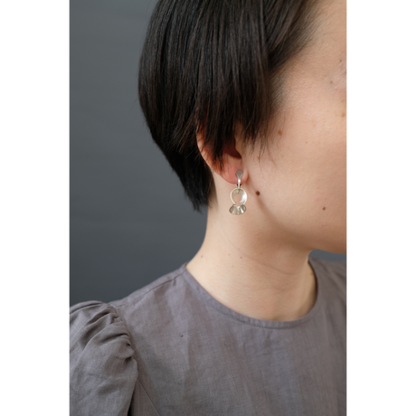 pump (S) silver earing