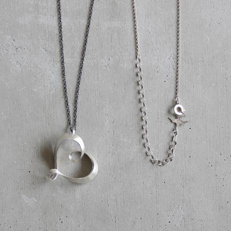 romana silver necklace