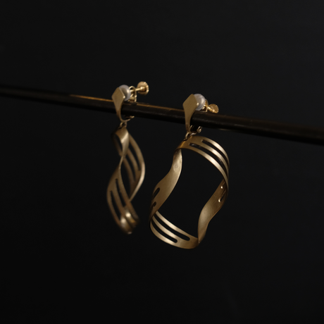 scala jewels brass earing